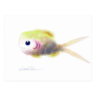 Peixes da fantasia: Cartão de Gilly Cartão Postal