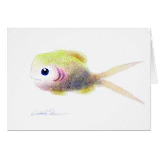 Peixes da fantasia: Gilly Cartão Comemorativo