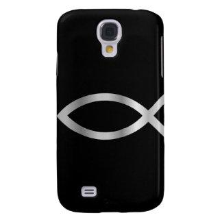 Peixes de Ichthys da cristandade Capas Personalizadas Samsung Galaxy S4