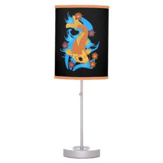 Peixes de Koi do dragão de água, lâmpada