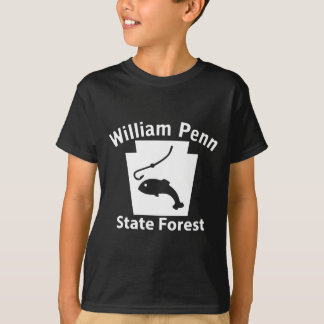 Peixes de William Penn SF - t-shirt da obscuridade