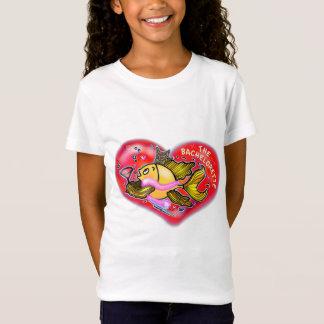 Peixes do partido de galinha de Bachelorette T-shirts