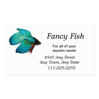 Peixes dos peixes de Betta ou cartão de visita do