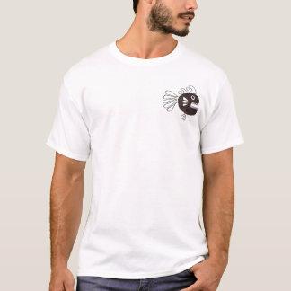 Peixes e polvo camiseta
