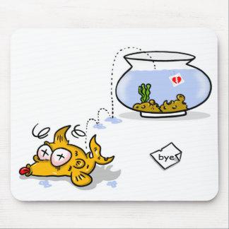 peixes engraçados mouse pad