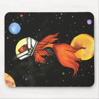 Peixes no espaço! Mousepad
