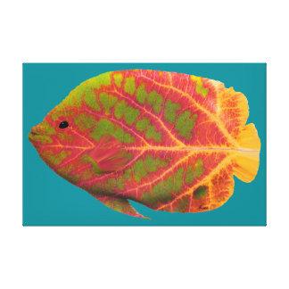 Peixes tropicais 1 da folha de Aspen