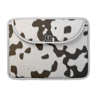 pele dalmatian do falso capa para MacBook