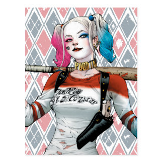 Pelotão do suicídio | Harley Quinn Cartão Postal