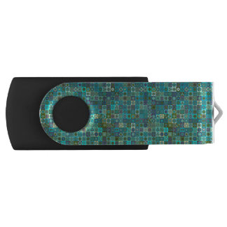 Pen Drive Design floral do teste padrão do abstrato da