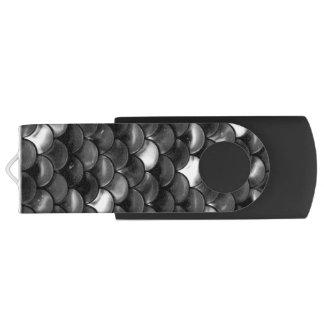 Pen Drive Escalas preto e branco de Falln
