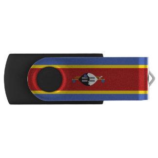 Pen Drive Giratório Bandeira de Suazilândia