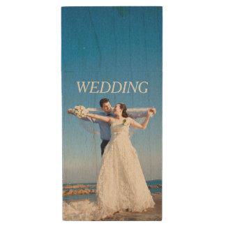 Pen Drive Sua própria foto do casamento