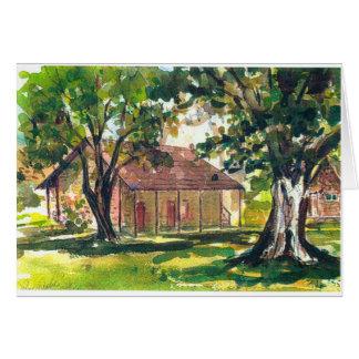 Pena Adobe, Vacaville, Califórnia Cartão Comemorativo