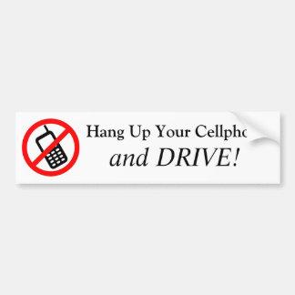 Pendure acima seu telemóvel e CONDUZA-O! Adesivo Para Carro