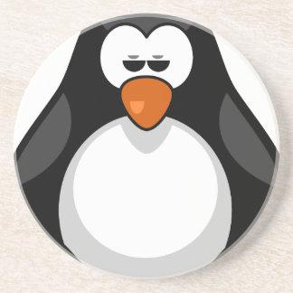 penguin - pinguim porta copos de arenito