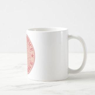 Pense duas vezes, fale uma vez caneca de café