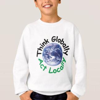 Pense global o ato localmente agasalho