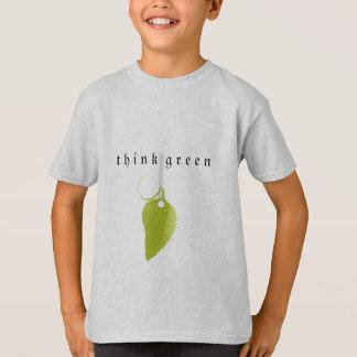 Pense verde t-shirts