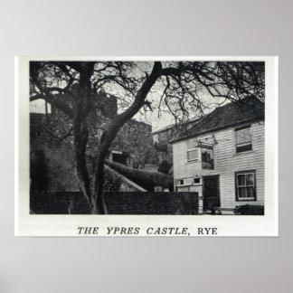 Pensões históricas de Kent, o castelo de Ypres, Ry Pôsteres