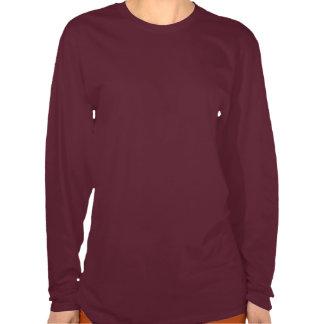 Pentagram da folha do carvalho do outono camisetas