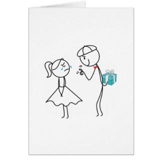 Pepe e Lulu Cartão Comemorativo