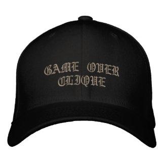 Pequena associação de GameOver cabida Bone Bordado