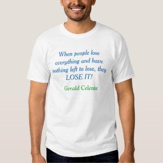 perca-o - Gerald Celente Tshirts