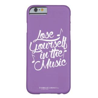 Perca-se no exemplo do iPhone 6/6s da música Capa Barely There Para iPhone 6