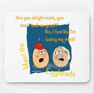 Perdendo minha mente, presentes engraçados dos des mouse pad