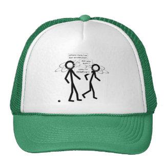 Perdendo uma piada do elétron - o chapéu do boné