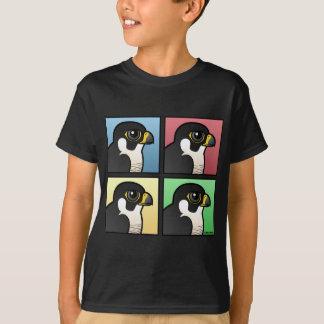 Peregrino de quatro cores camiseta