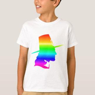 Peregrino do arco-íris t-shirts