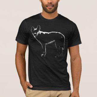 Perfil do Dingo - t-shirt