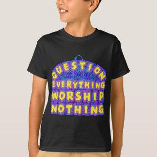 """Pergunta do miúdo a """"tudo"""" t-shirt"""