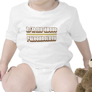 Pergunte-me sobre a paleontologia macacãozinho para bebê