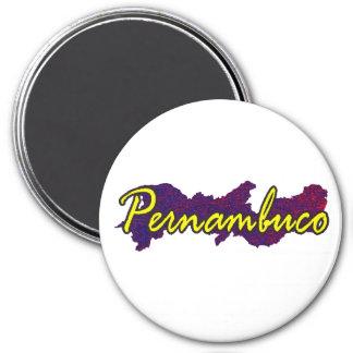 Pernambuco Ímã Redondo 7.62cm
