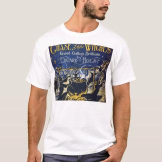 Perseguição das bruxas camisetas