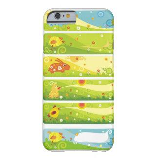 personagens de desenho animados da galinha do capa barely there para iPhone 6