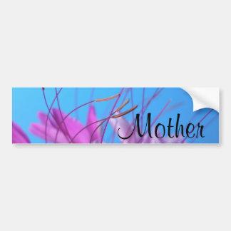 Personalize a mensagem da mãe adesivo para carro