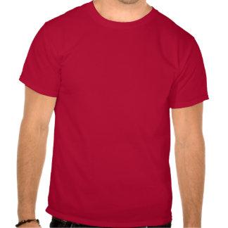 Personalize este vermelho carmesim t camiseta