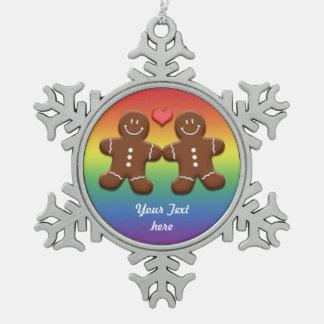 Personalize o arco-íris do casal dos homens de