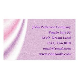 Personalize o cartão de visita drapejando abstrato