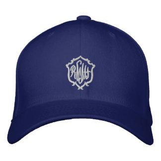 Personalize o chapéu bordado iniciais do monograma bones
