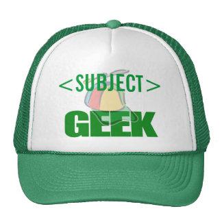 Personalize o design do GEEK, <SUBJECT> Boné