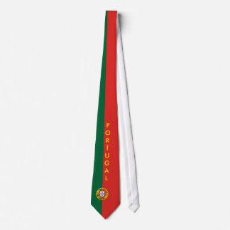 Personalize o laço da bandeira de Portugal Gravata