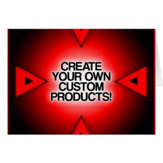 Personalize/personalize/criar seus próprios cartão comemorativo