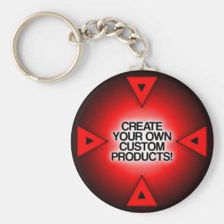 Personalize/personalize/criar seus próprios chaveiro