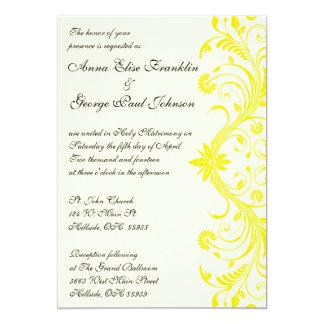 Personalize seu convite do Flourish da cor do