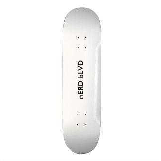 Personalize sua avenida do nerd do conselho @ shape de skate 18,4cm